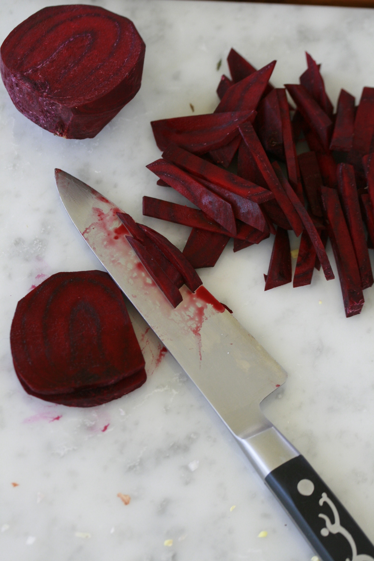 Fresh Beetroot, peeled and cut into matchsticks