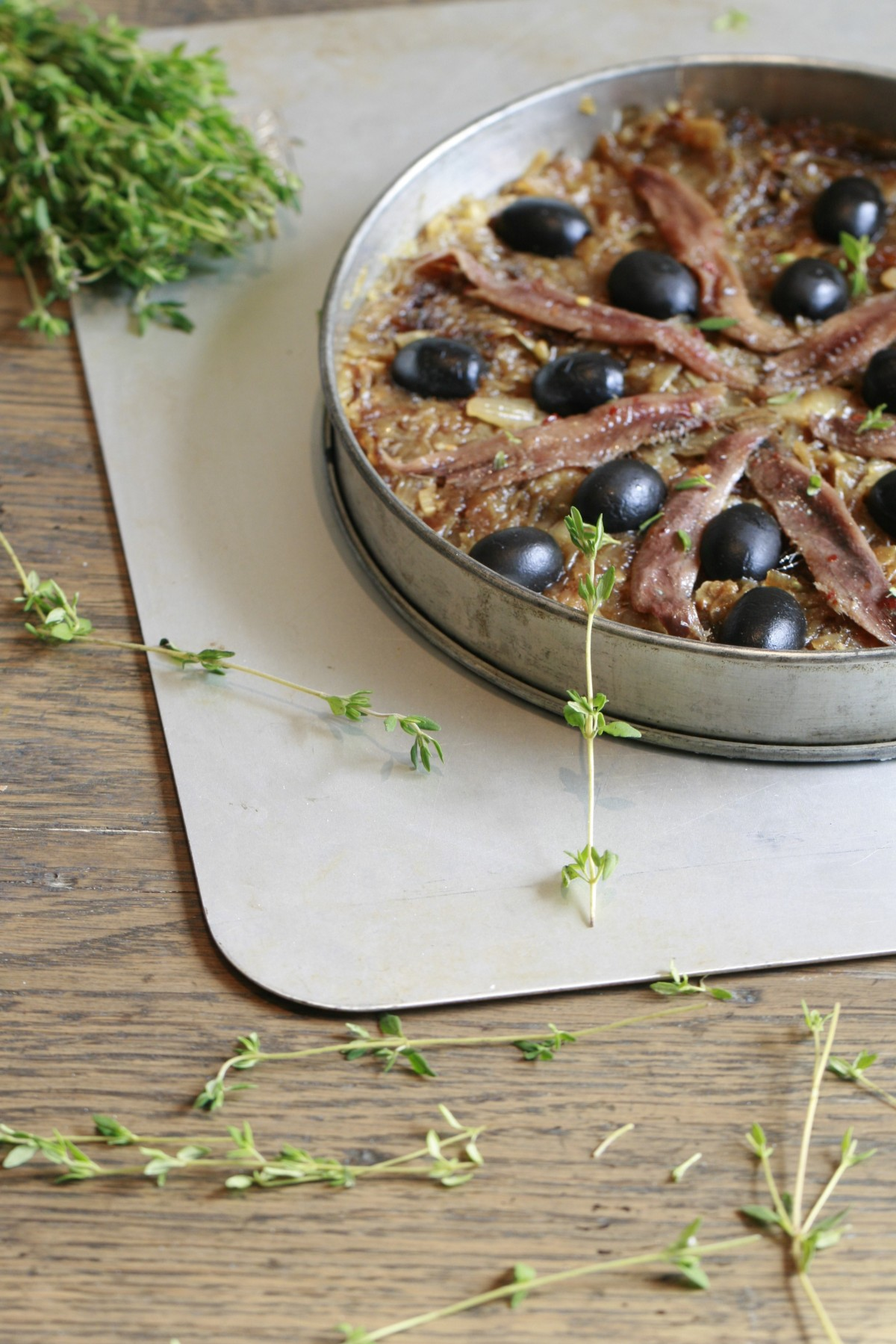 Pissaladiere and Thyme
