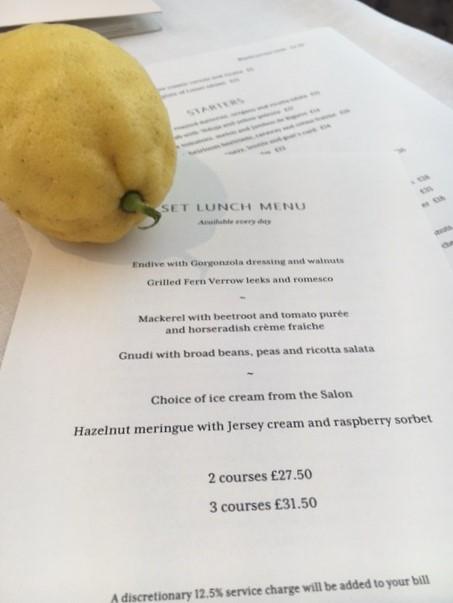 Sky Gyngell @ Spring Resturant