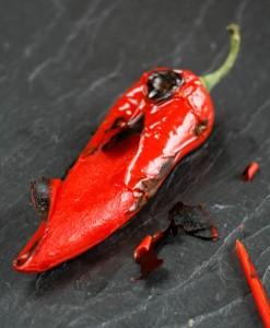 Charred chilli