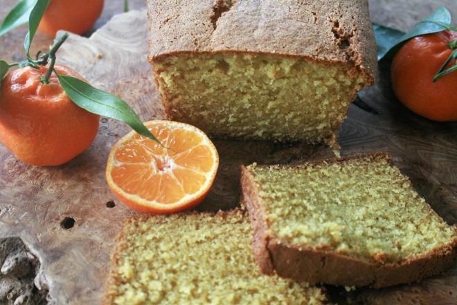 Clementine cake for breakfast