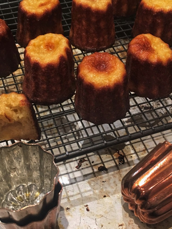 canele and canele moulds