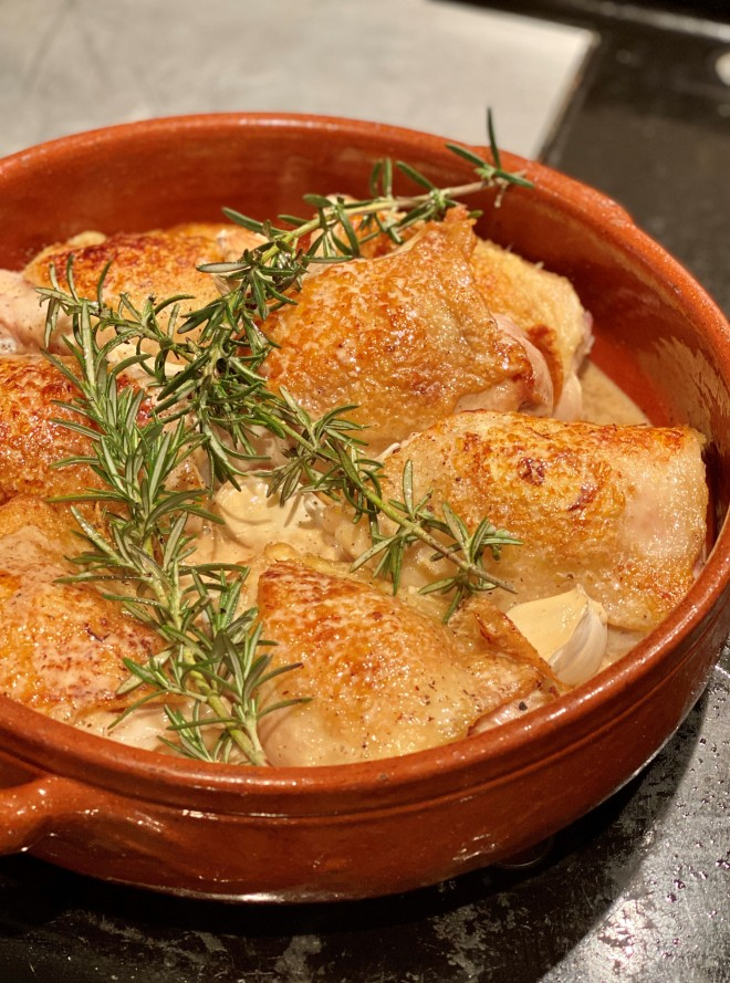 chicken with sherry vinegar