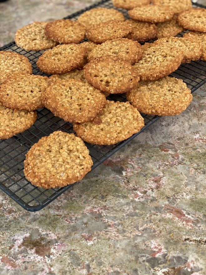 chokladflan biscuits