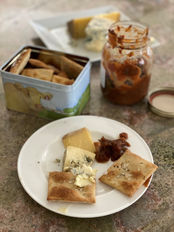 Thyme and Peppere Crackers